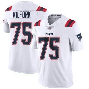 Nike Vince Wilfork New England Patriots Limited White Vapor Untouchable Jersey - Men's