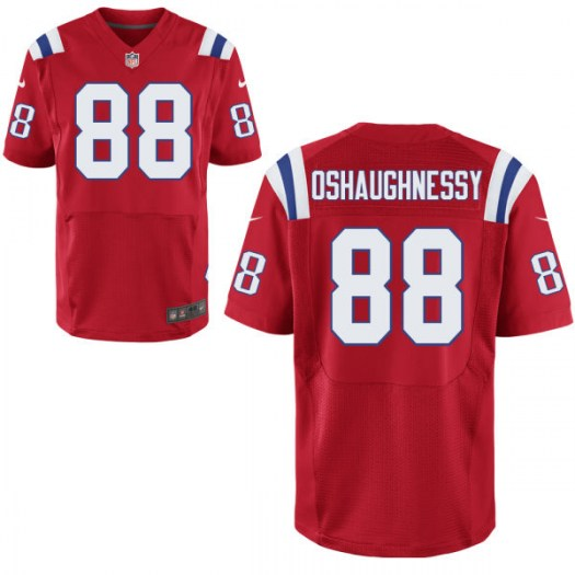Nike James O'Shaughnessy New England Patriots Elite Red Jersey - Men's