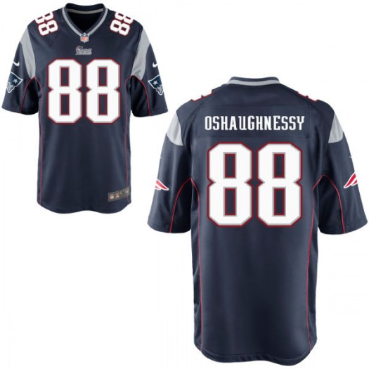 Nike James O'Shaughnessy New England Patriots Game Team Color Jersey - Men's